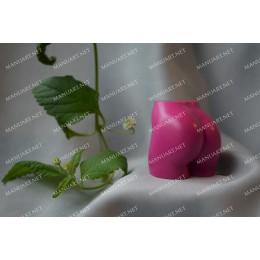 Forma silikonowa - Damska pupą Mini 3D - do wyrobu mydła, świec i odlewów
