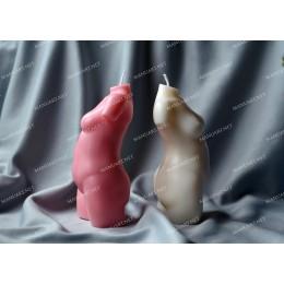 Forma silikonowa - Akt kobiety #7 - do wyrobu mydła, świec i odlewów