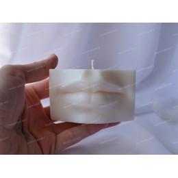 Forma silikonowa - Usta Dawida średnie 3D - do wyrobu mydła, świec i odlewów