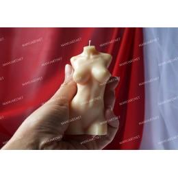 Forma silikonowa - Ciało kobiety 3D - do wyrobu mydła, świec i odlewów
