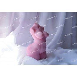 Forma silikonowa - Duża kobieta 3D - do wyrobu mydła, świec i odlewów