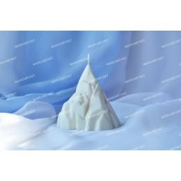 Forma silikonowa - G贸ra - do wyrobu myd艂a, 艣wiec i odlew贸w