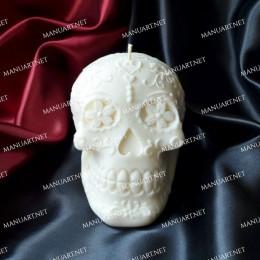 Średnia meksykańska czaszka 3D