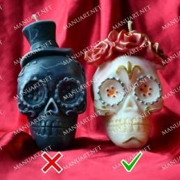 Meksyka艅ska czaszka 偶e艅ska 3D