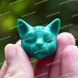 MINI głowa kota Buddy 3D