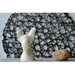 Forma silikonowa - Popiersie kota sfinksa 3D - do wyrobu mydła, świec i odlewów