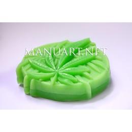 Forma silikonowa - Marihuana - do wyrobu mydła, świec i odlewów