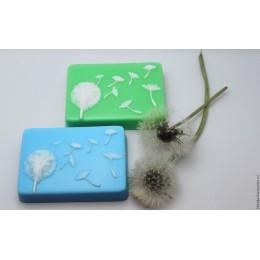 Forma silikonowa - Mniszek - do wyrobu mydła, świec i odlewów