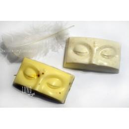 Forma silikonowa - Oczy Buddy - do wyrobu mydła, świec i odlewów