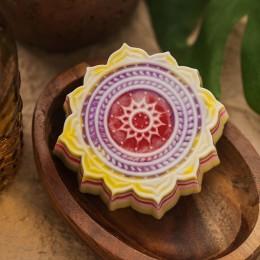 Forma silikonowa - Orientalny wzór - do wyrobu mydła, świec i odlewów