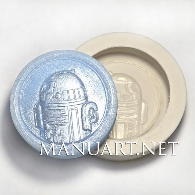 Forma silikonowa - R2-D2 - do wyrobu mydła, świec i odlewów