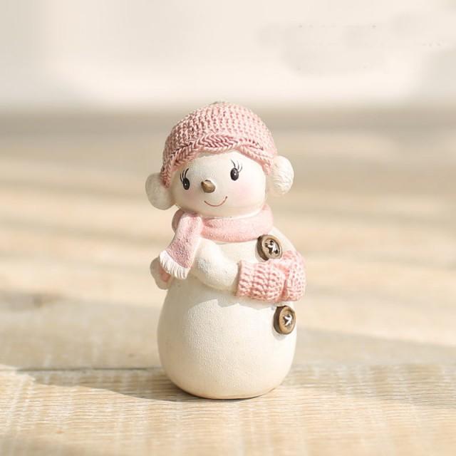 Forma silikonowa - Dziewczynka-bałwan w dzianinowym kapeluszu - do wyrobu mydła, świec i odlewów